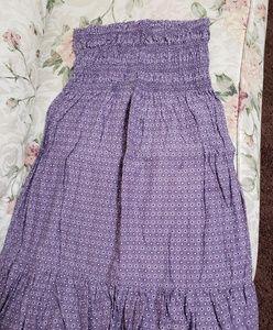 Victoria's Secret purple flower Halter top dress